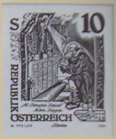 """Freimarkenserie """"Kunstwerke aus Stiften und Klöstern"""" 1000_a12"""