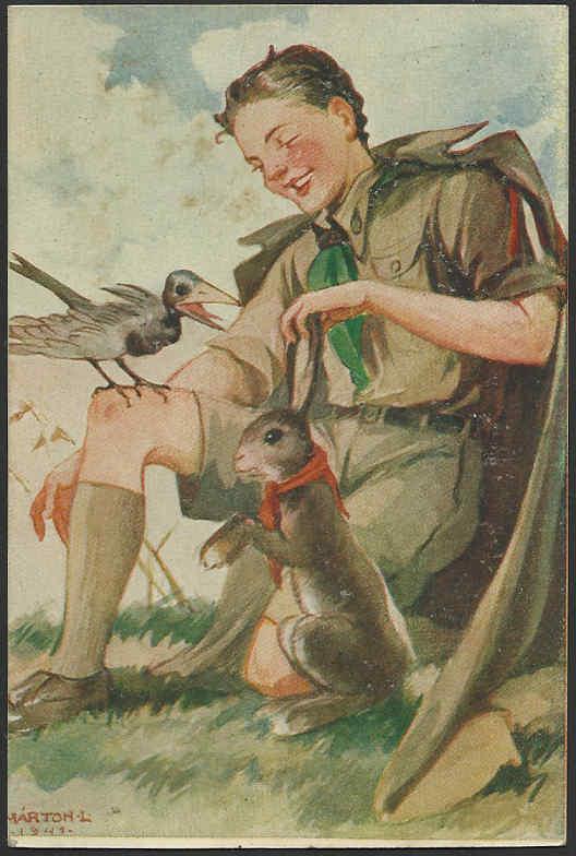 Pfadfinderkarten von Lájos Márton 1941ti10