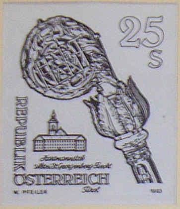 """Freimarkenserie """"Kunstwerke aus Stiften und Klöstern"""" 2000_a12"""