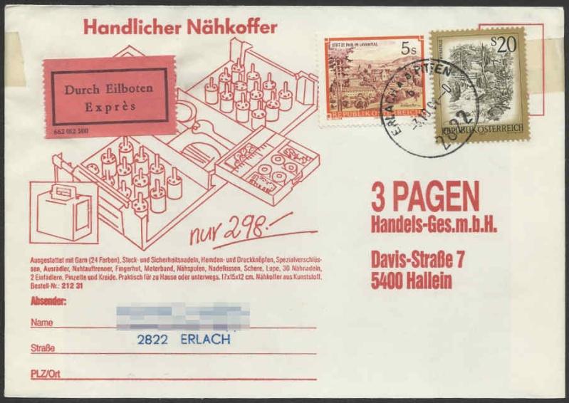 Werbeumschläge und -karten aus Österreich - Seite 2 Deipag10