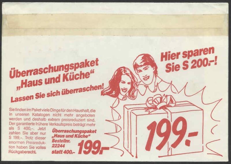 Werbeumschläge und -karten aus Österreich - Seite 2 Dreipa10
