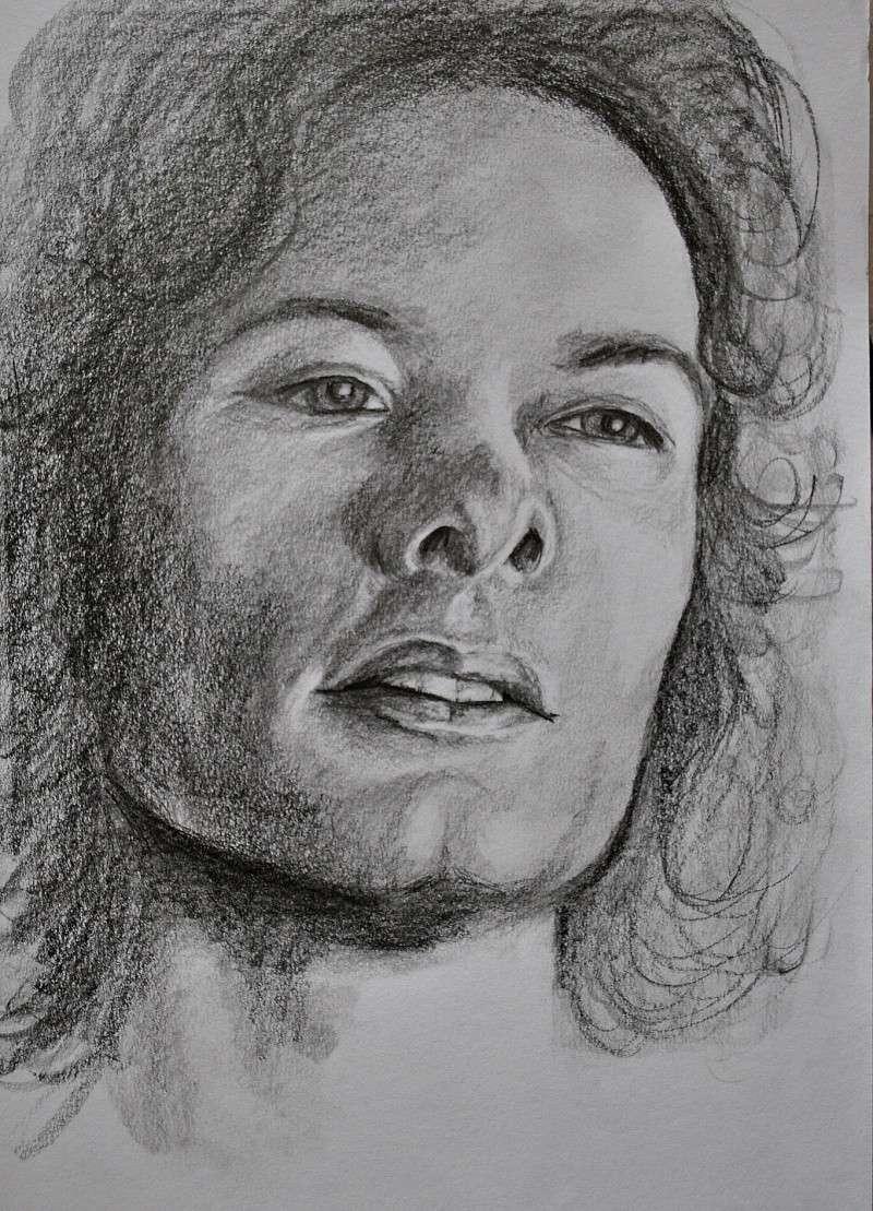 portraits au crayon Kyle6b11