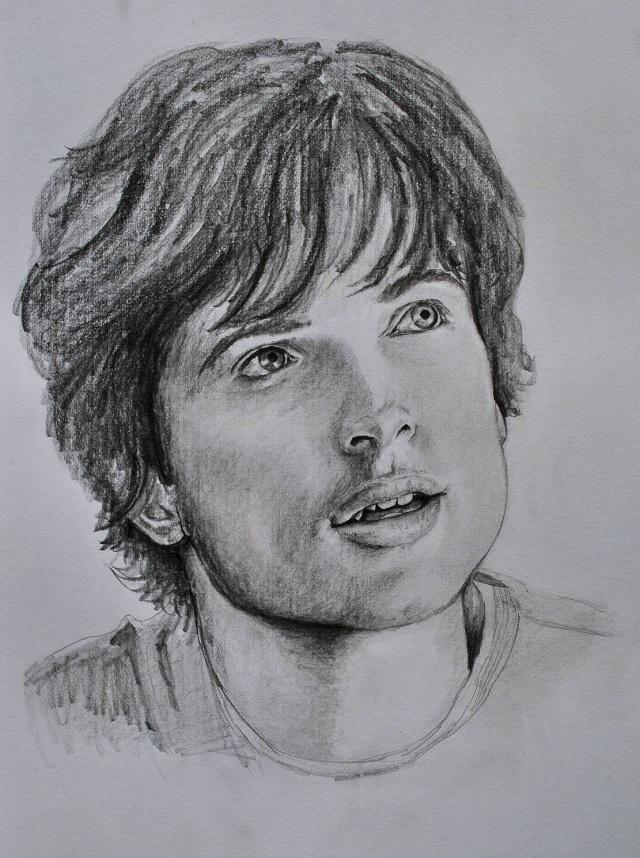 portraits au crayon Tom_we11
