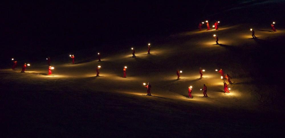 Descente aux flambeaux - ESF ESI - PRALOUP - Alpes du Sud 2015-015