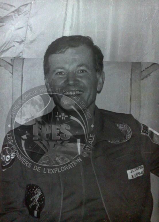 Jean-Loup Chrétien, premier spationaute Français Jlc2b10