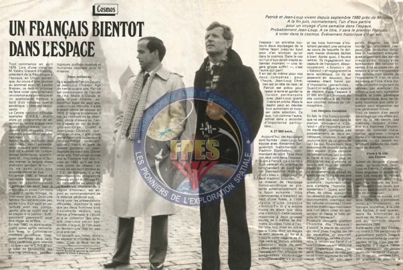 Jean-Loup Chrétien, premier spationaute Français Pour_c11