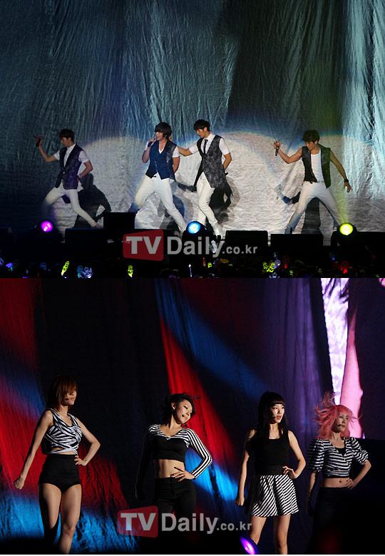 Miss A au concert des 2PM 54821524