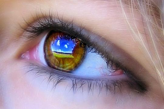 Un oeil, pour miroir Oeil-l10