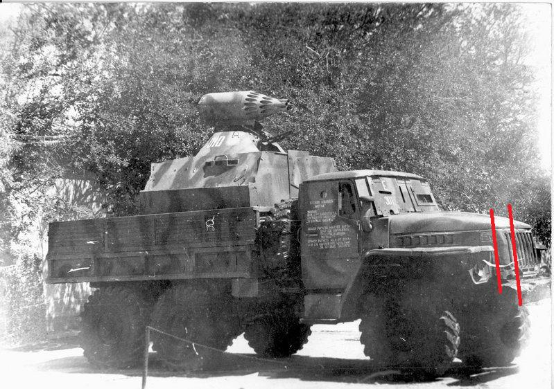 Soviet Gun truck en Afghanistan Volume 2 Le Broom 210