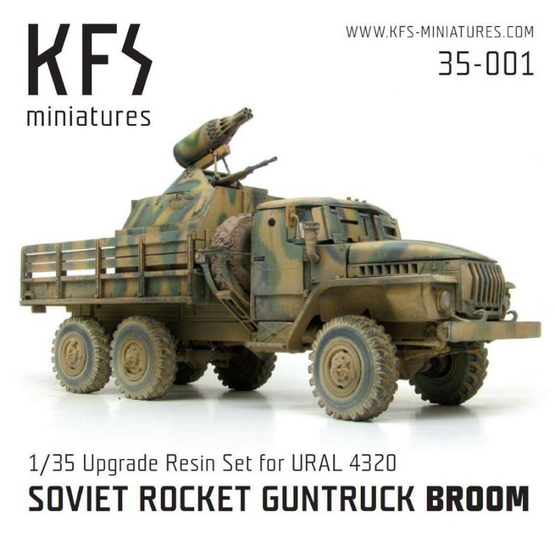 Soviet Gun truck en Afghanistan Volume 2 Le Broom Beztyt10