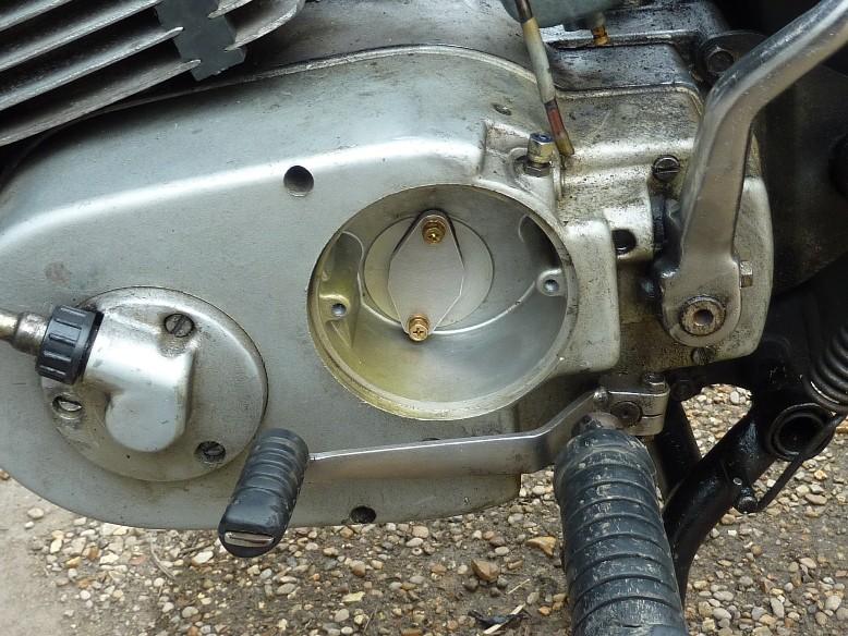 Supprimer la pompe à huile 1111