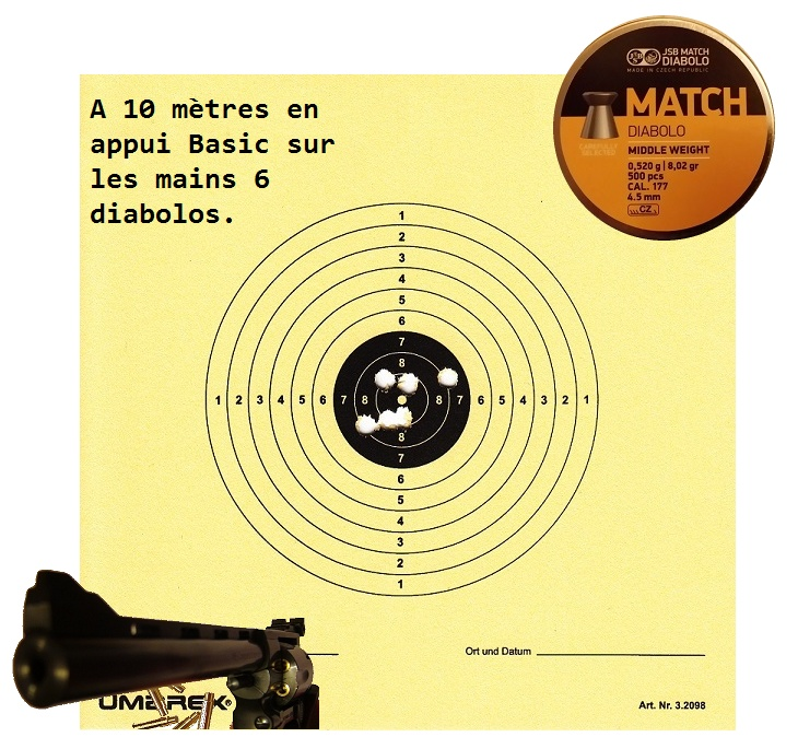 "Attention Danger ME revolver competition 6"" 100% plaisir Carton12"