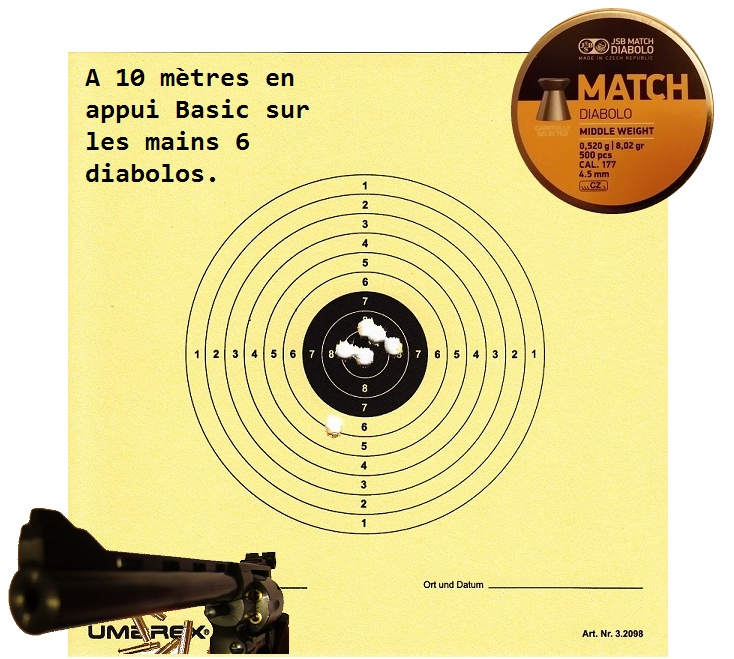 "Attention Danger ME revolver competition 6"" 100% plaisir Carton13"