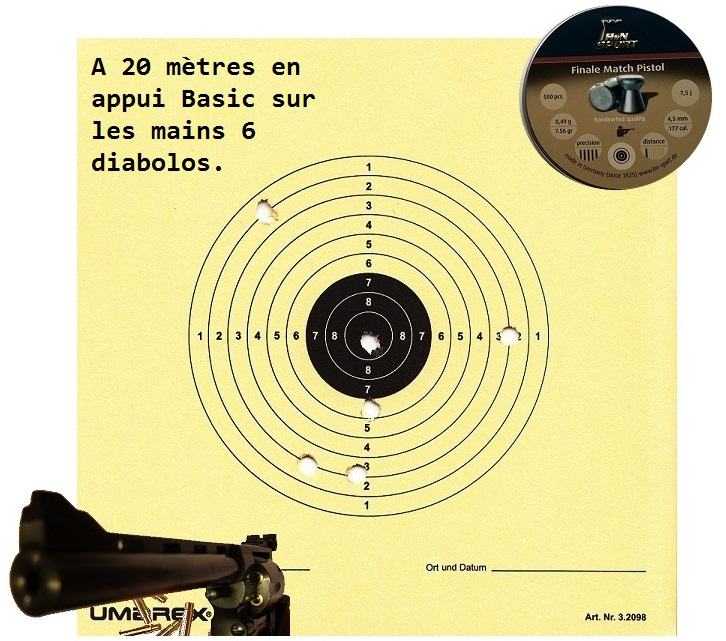 "Attention Danger ME revolver competition 6"" 100% plaisir Carton14"