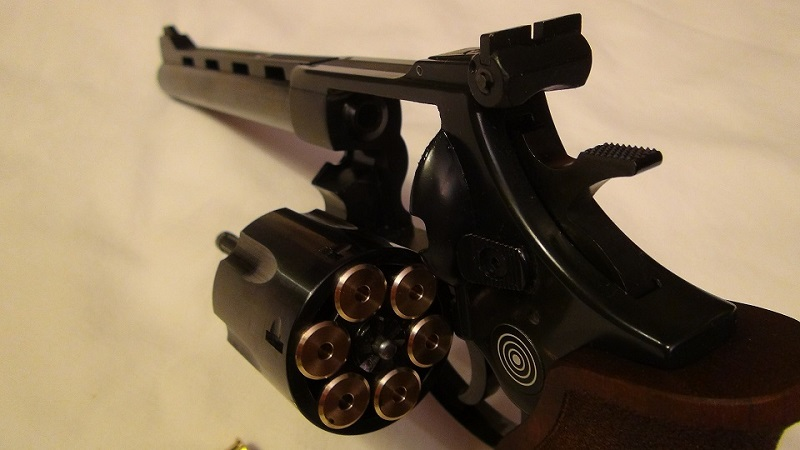 "Attention Danger ME revolver competition 6"" 100% plaisir Lep110"
