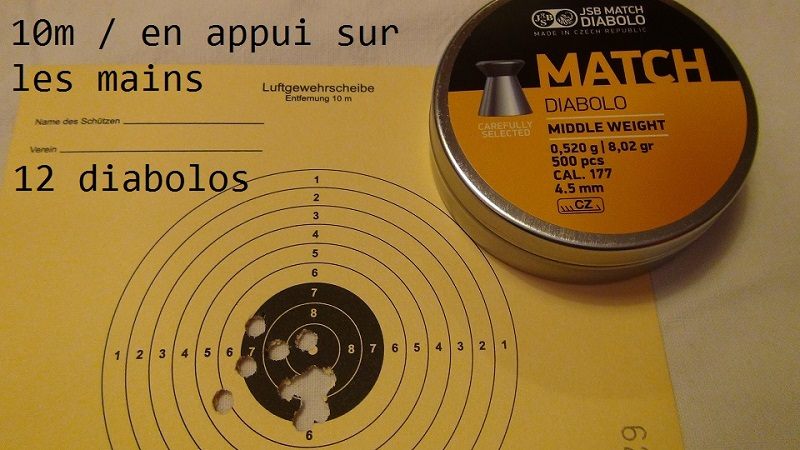 "Attention Danger ME revolver competition 6"" 100% plaisir Lep310"