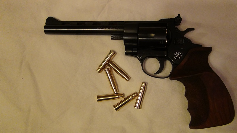 "Attention Danger ME revolver competition 6"" 100% plaisir Lep510"