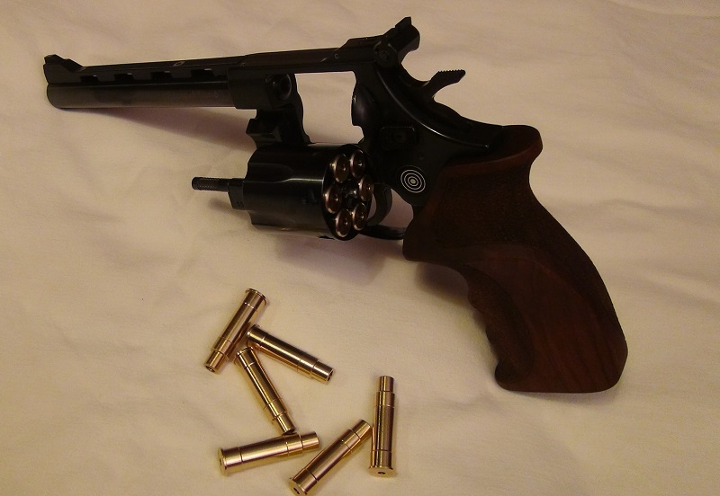 "Attention Danger ME revolver competition 6"" 100% plaisir Lep910"