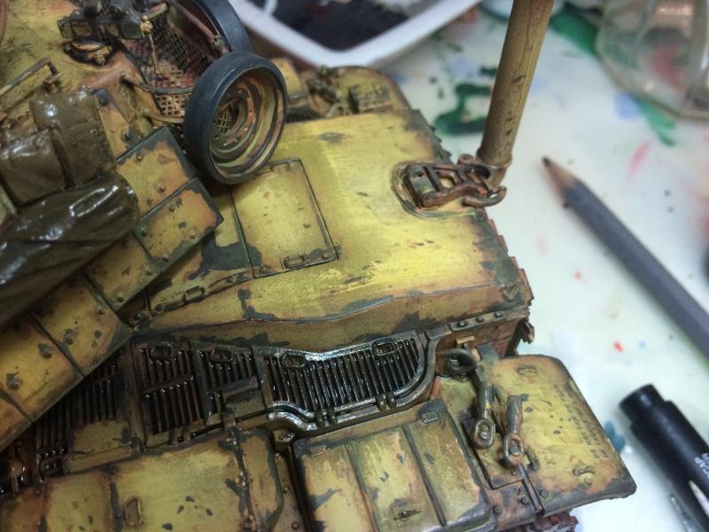 M60A1 - TAMIYA 35157 - 1/35 - Page 3 Img_3071