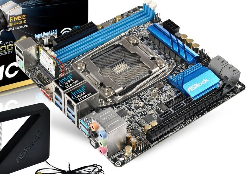 X99 et 8 Cores en mini itx sur la Asrock X99E-ITX/ac 310
