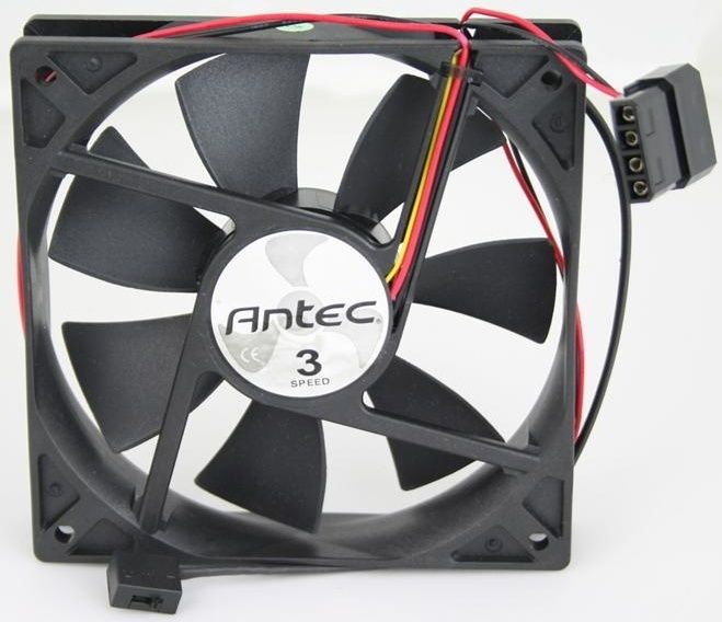 FS-2* Antec TriCool 120mm Low / Medium / High Speed Switchable Fan Antec11
