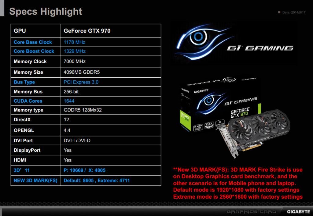FS- 3*Gigabyte G1 GAMING GTX  970 4GB 1329MHz Gigaby14