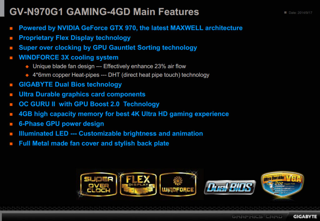 FS- 3*Gigabyte G1 GAMING GTX  970 4GB 1329MHz Gigaby15