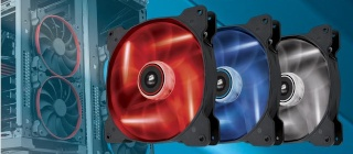 FS- 2*Fan Corsair Air Series AF140 LED Red Quiet Edition High Airflow (NEW) Giria10