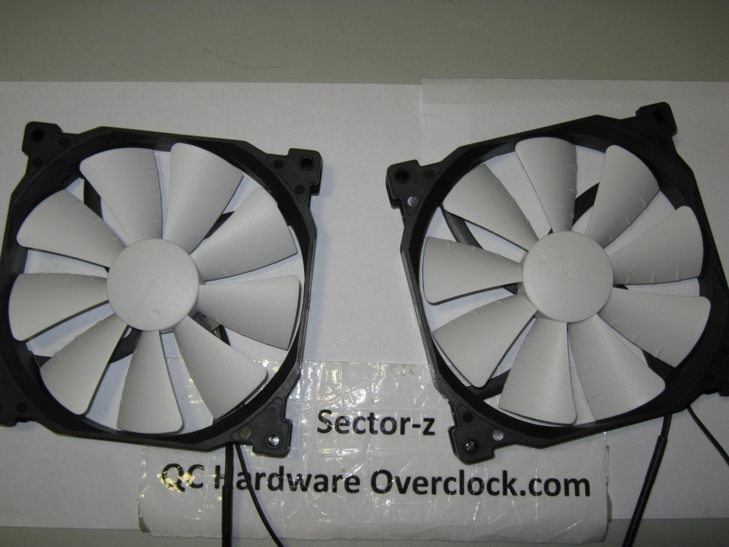 FS-2* Phanteks High Quality Orange LED Fan PH-F140SP 83CFM MTBF >150,000 H Img_0463