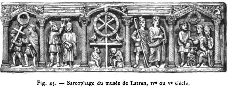 Rome Chrétienne et ses monuments - EUGENE DE LA GOURNERIE - 1867 Fig_4511