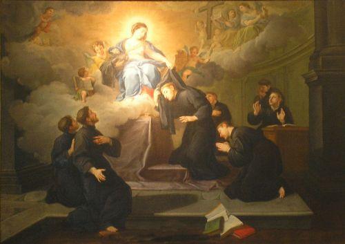 Les sept Saints Fondateurs de l'Ordre des Servites 0212se10