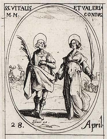 Saint Vital, martyr 0428vi10