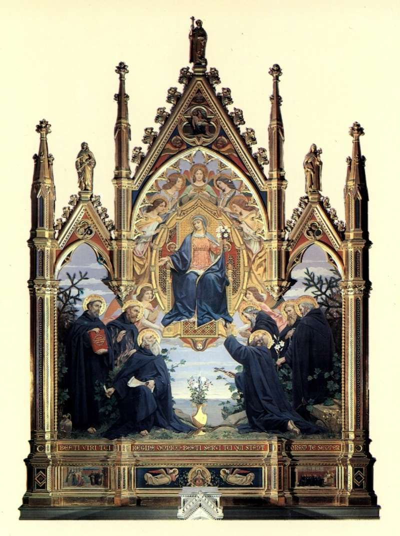 Les sept Saints Fondateurs de l'Ordre des Servites Fondat10