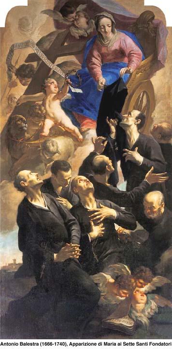 Les sept Saints Fondateurs de l'Ordre des Servites Santi_10