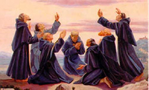 Les sept Saints Fondateurs de l'Ordre des Servites Sevenh10