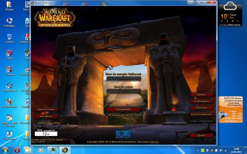 Préparez-vous et Installez CATACLYSME Screen10