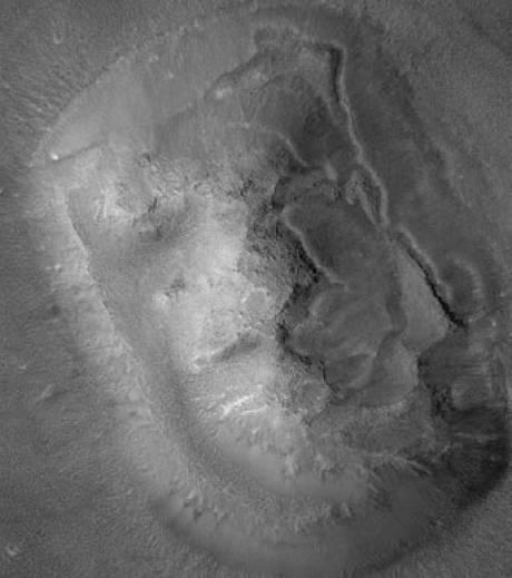 Mars : pas de visage humain sculpté à sa surface La-col10