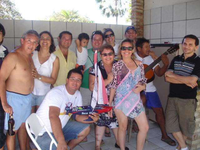 Domingão com churrasco do grupo de Nautimodelismo de fortaleza Sitio_10