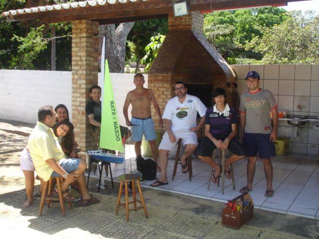 Domingão com churrasco do grupo de Nautimodelismo de fortaleza Sitio_11
