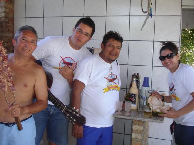 Domingão com churrasco do grupo de Nautimodelismo de fortaleza Sitio_22