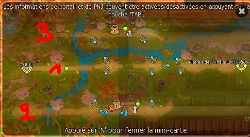 Guide de Dragotaka , Bestiaire et map (en construction) Plaine13