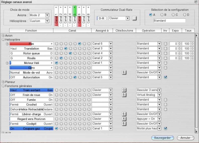 reglages - Simulateur et mac Screen14