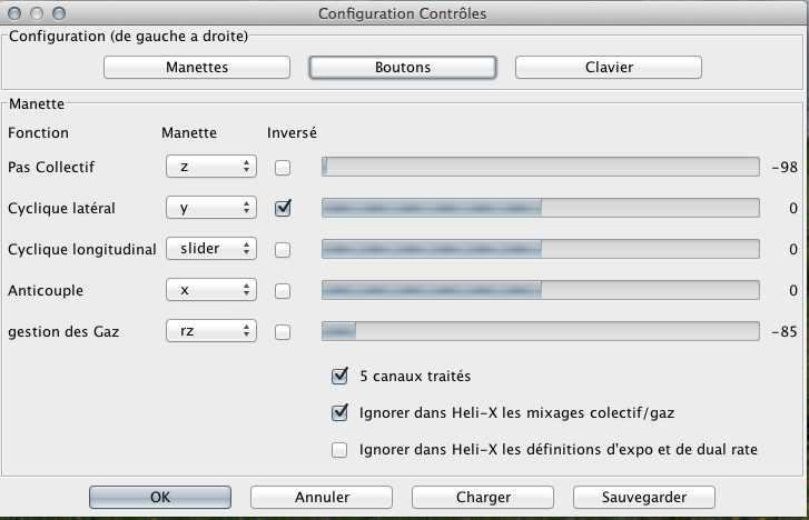 reglages - Simulateur et mac Screen19