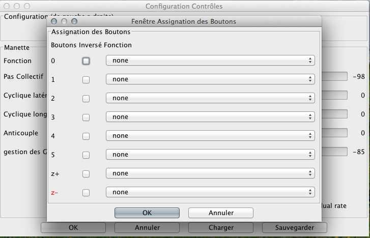 reglages - Simulateur et mac Screen20