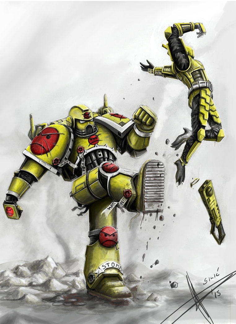 [W40K] Collection d'images : Warhammer 40K divers et inclassables - Page 2 Angry_10