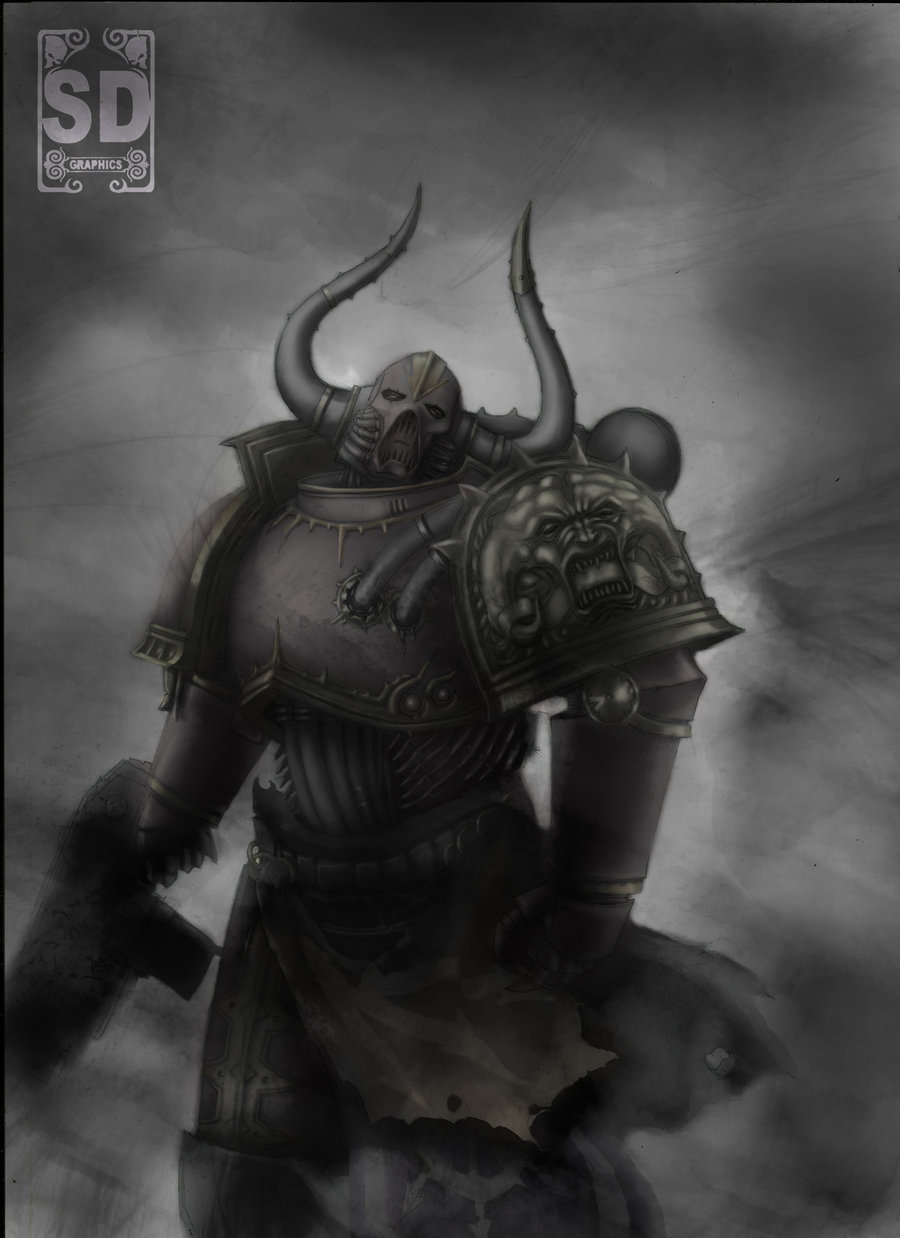 [W40K] Collection d'images : Space Marines du Chaos - Page 6 Chaosw10