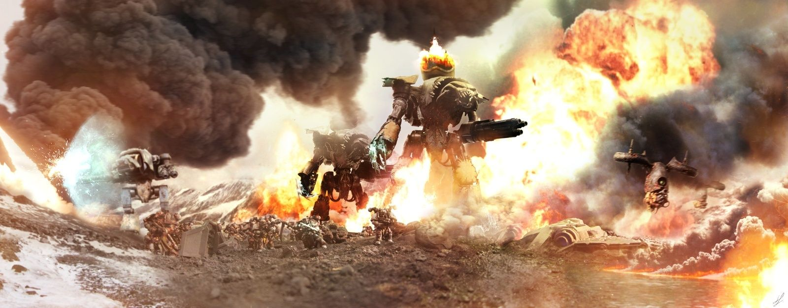 [W40K] Collection d'images : Warhammer 40K divers et inclassables - Page 2 Sons_o10