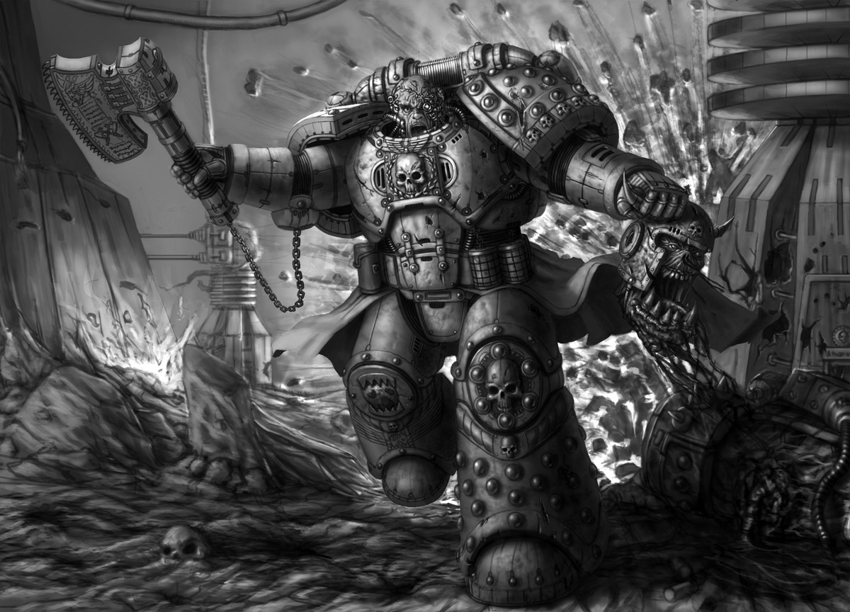[W40K] Collection d'images : Space Marines du Chaos - Page 6 Worlde10