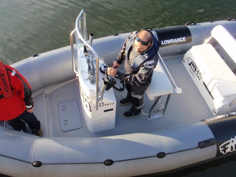 Essai du Centaure 620XL avec Seigneur et Fredo des barges du 44 Pb290117