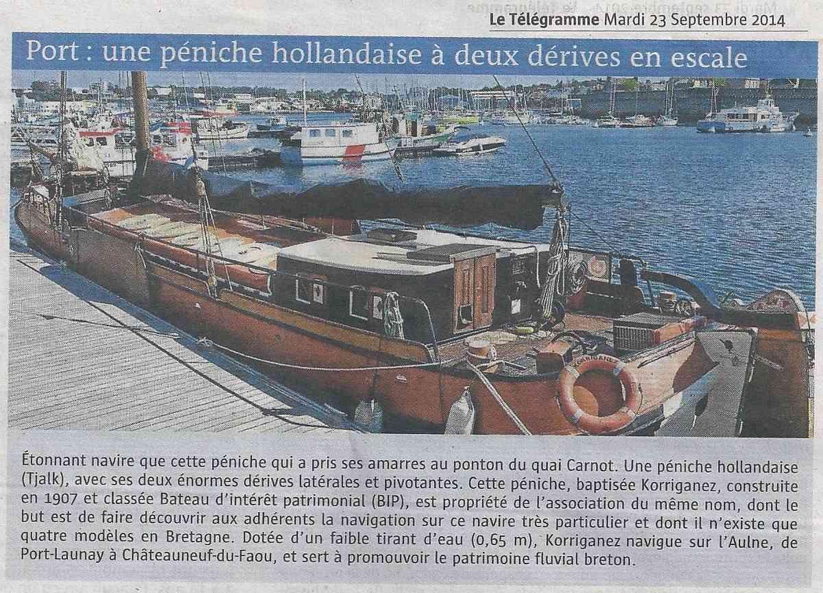 [Vie des ports] LE PORT DE CONCARNEAU - Volume 006 - Page 2 1132